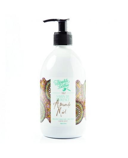 Savon de Provence liquide - Miel  Amande 500ML